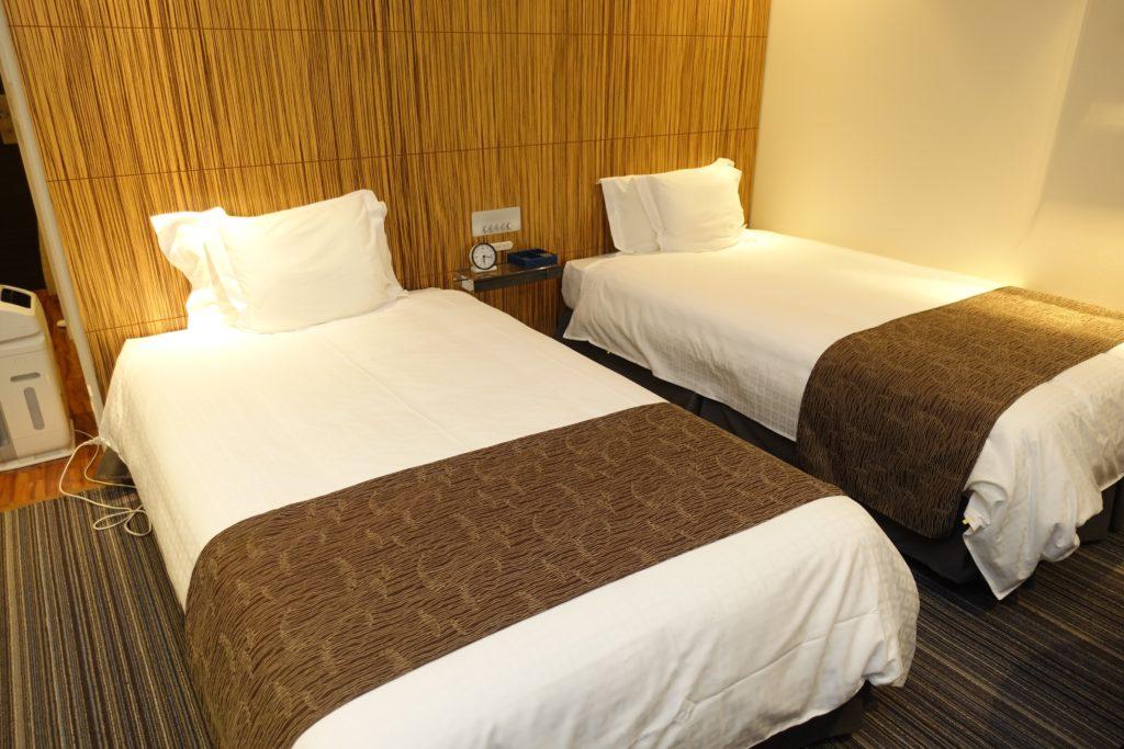 ホテルユニバーサルポートのベッド