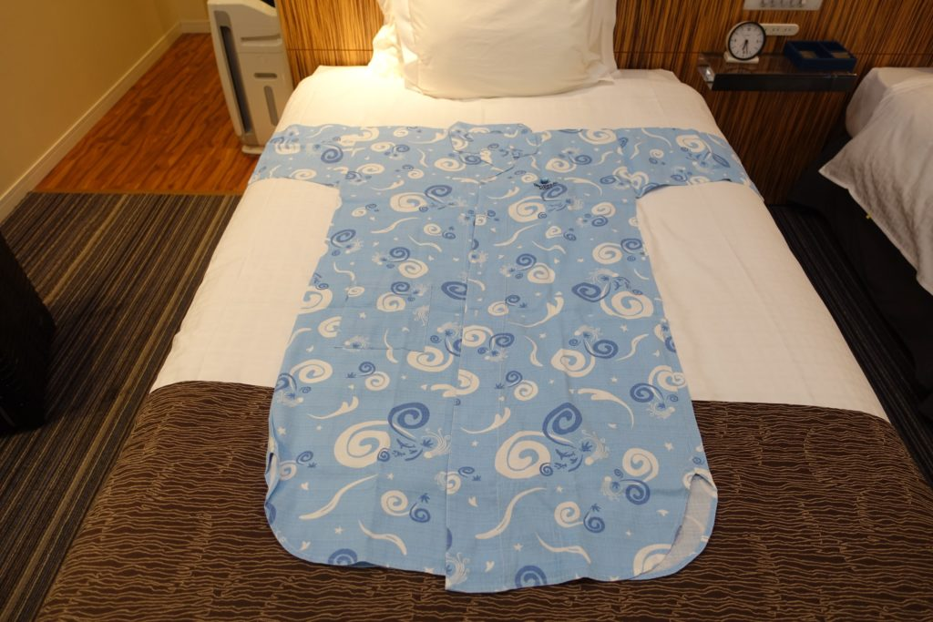 ホテルユニバーサルポートのパジャマ