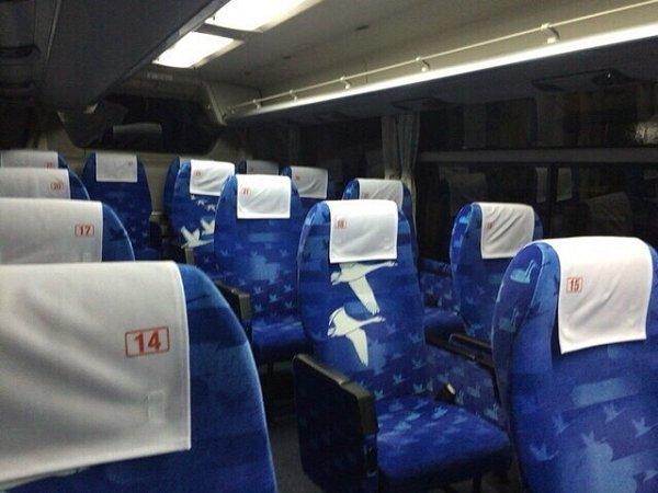 USJへ夜行バスで