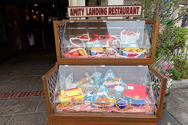 アミティ・ランディング・レストランのメニュー