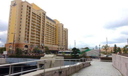 ユニバーサルシティ駅からホテルユニーバーサルポートまでの道順(ルート)