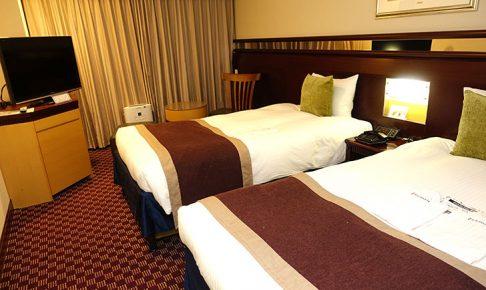 ホテル京阪ユニバーサルタワーの部屋の中