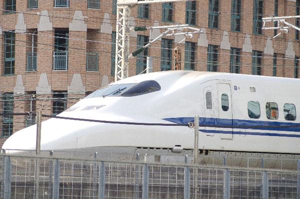 京都駅から新幹線でUSJ