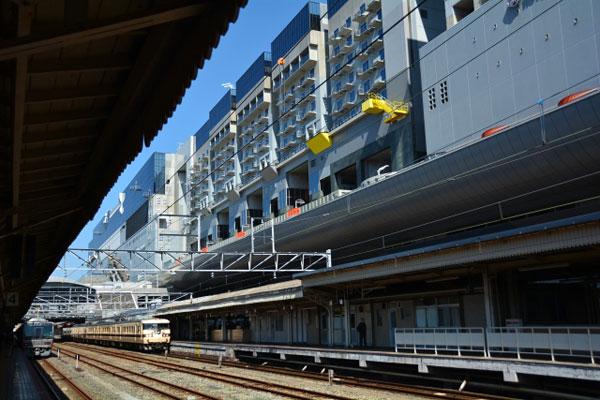 京都駅からJRでUSJへ