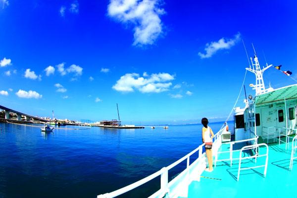沖縄からフェリーでUSJに行く