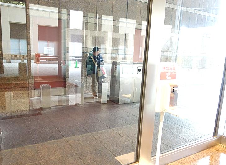 ホテル京阪ユニバーサルタワーの喫煙所