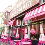 USJのピンクカフェ