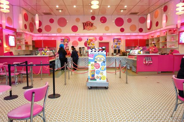 ピンクカフェのメニュー