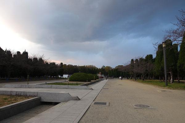 大阪城の敷地は広い