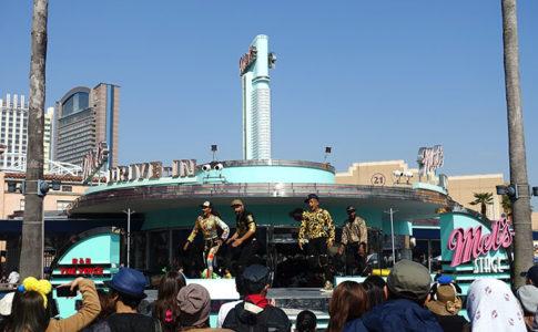 USJ「R&B ザ・ボイス」はメルズステージ開催のショー