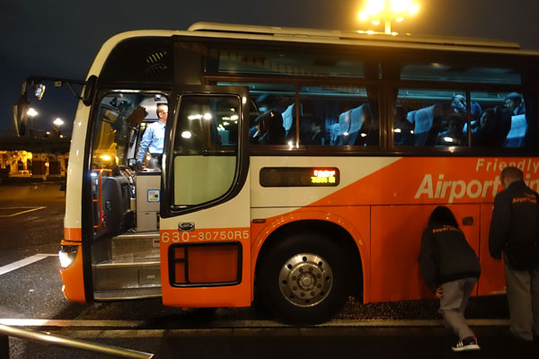 高速バスでTDRからUSJへ