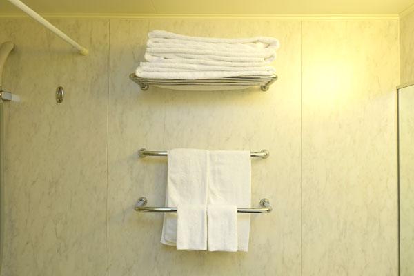 バスタオルとタオル