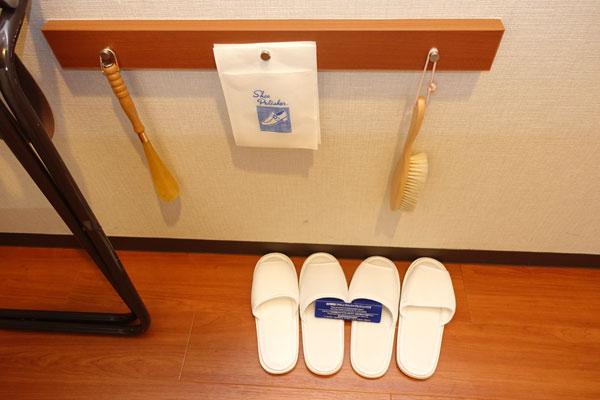 ホテル大阪ベイタワーのスリッパ