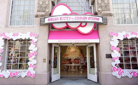 USJ「ハローキティ・デザインスタジオ」はキティグッズ専門店