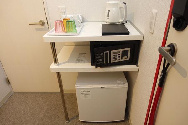 セーフティボックス、冷蔵庫