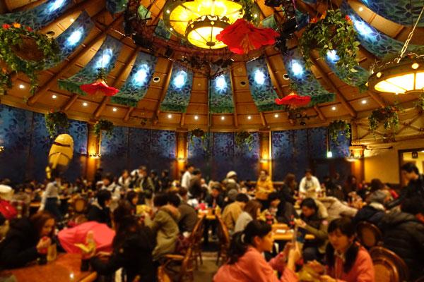 ロストワールドレストランは最近では貸切イベントで使われることも