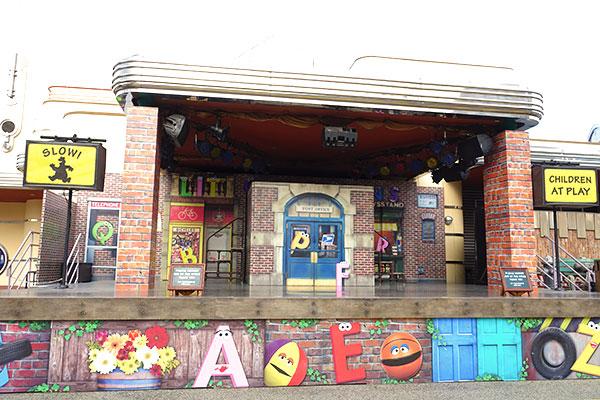 「セサミストリート・アルティメイト・ダンス」のステージ