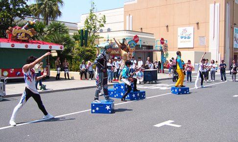 USJ「ターンアップザストリート」はサプライズ連続のダンスストリートショー