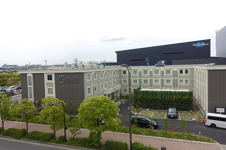 ラジェントホテル大阪ベイの駐車場やアクセス