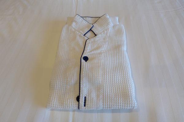 パークフロントホテルのパジャマ(ナイトウェア)