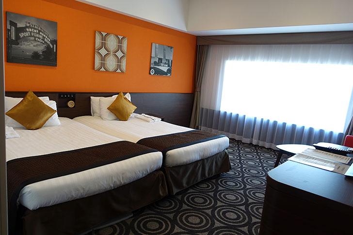 パークフロントホテルの部屋