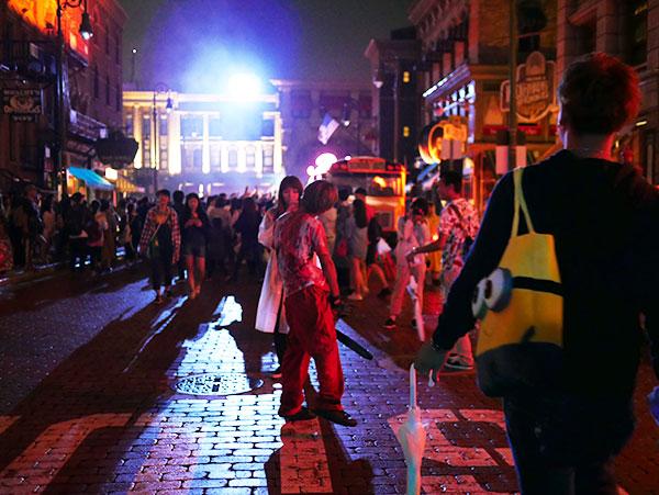 ストリート・ゾンビが開催される時間をチェック