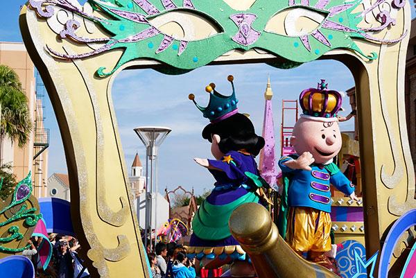 USJのハロウィンパレード