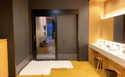 USJシンギュラリホテルの大浴場スカイスパ