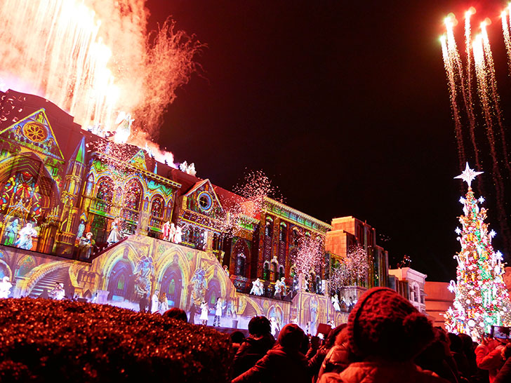 USJのクリスマスナイトショー、天使がくれた奇跡Ⅲ