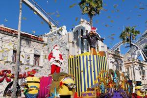USJ2017年のクリスマスパレード「ミニオンハチャメチャクリスマスパーティ」