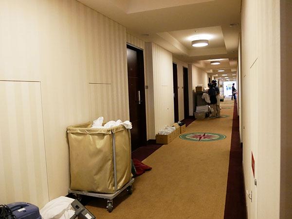 ホテル京阪ユニバーサルタワー(デイユースプラン)の清掃