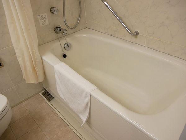 ホテル京阪ユニバーサルタワー(デイユースプラン)でのお風呂