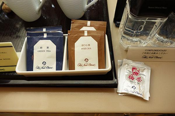 ホテルニューオータニ大阪のお茶
