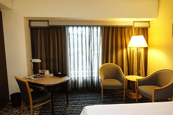 ホテルニューオータニ大阪のスーペリアツインの部屋