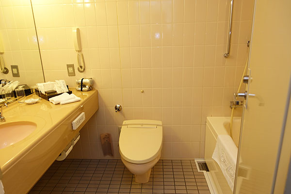 ホテルニューオータニ大阪の洗面所