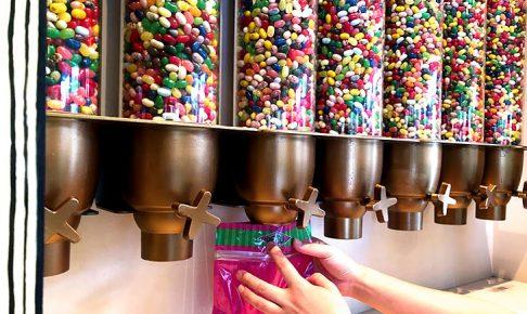 USJのお菓子の詰め放題サービス