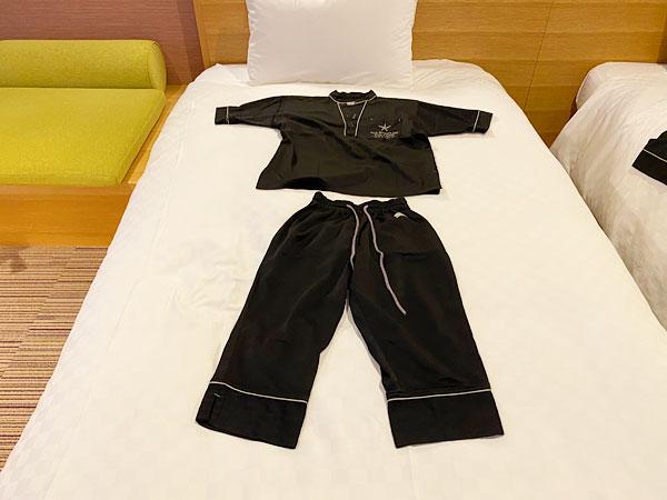 【USJシンギュラリホテル】子ども用のパジャマ