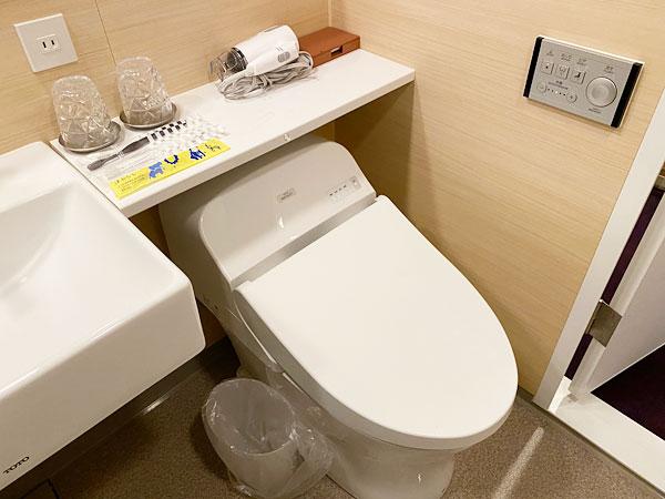 【USJシンギュラリホテル】ウォシュレット付きトイレ
