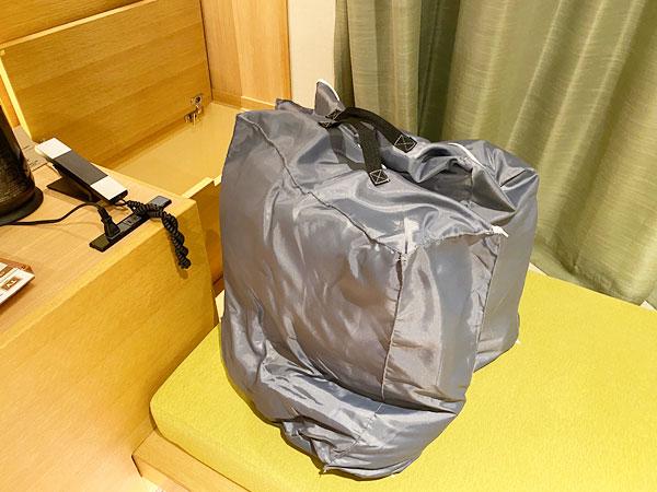 【USJシンギュラリホテル】寝具袋
