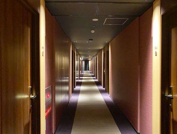【USJシンギュラリホテル】廊下