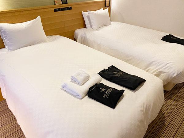 【USJシンギュラリホテル】ベッド