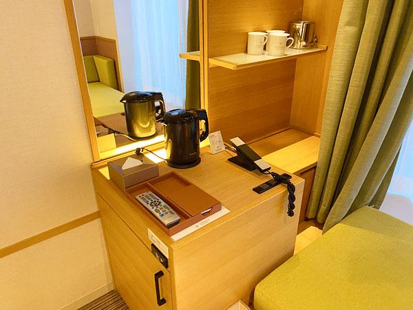 【USJシンギュラリホテル】部屋の設備
