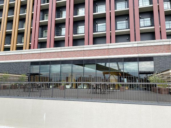 リーベルホテル「スパ」のテラス席