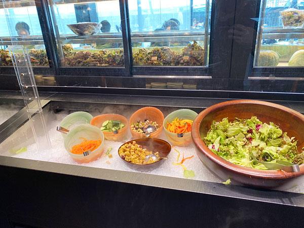 【リーベルホテル朝食ブッフェ】サラダ