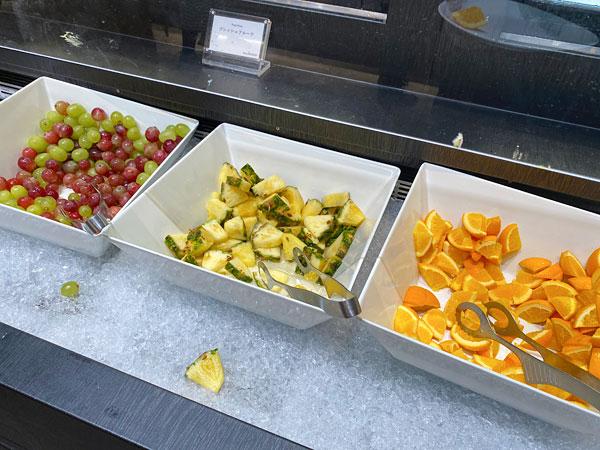 【リーベルホテル朝食ブッフェ】フルーツ