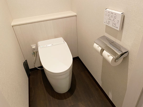 【リーベルホテルの部屋】トイレ