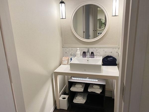 【リーベルホテルの部屋】洗面所