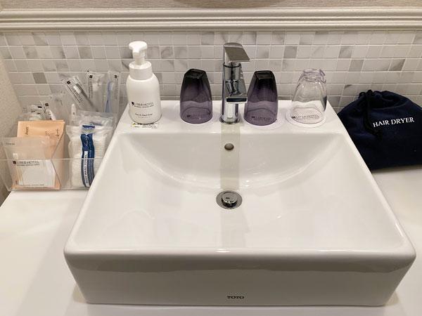 【リーベルホテルの部屋】洗面台