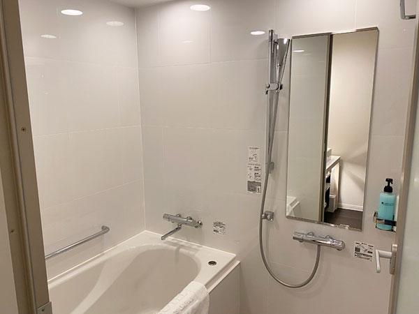 【リーベルホテルの部屋】風呂場