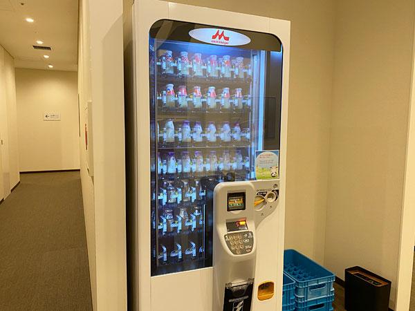リーベルホテル「リバーサイドスパ」の自販機